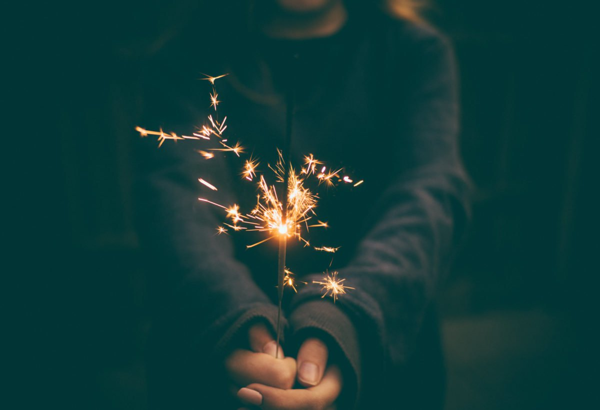 What is the spark that will lead you forward?